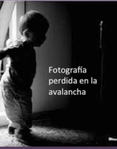 fotografia Perdida en la Avalancha-armandoArmero