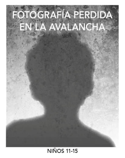 Perdida en la Avalancha-niños (11-15)-armandoArmero